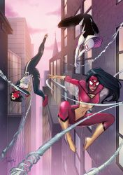 Spider-Women by Patty Arroyo Art by pattyarroyo