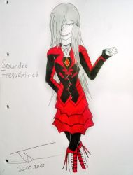 (Ghoul OC) Soundra Frequentrice by Bloodrainnightmare