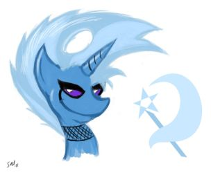 Silly - Rock and Roll Trixie by grayscalerain