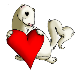 .:A Ferrets Love:. by Treetail