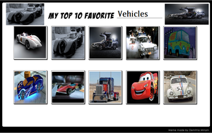 My Top 10 Vehicles by MarioFanProductions