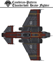 Cambrian-Pattern Thunderbolt Heavy Fighter by Martechi