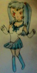 Kyuya is Sailor Mercury  by lileehilee
