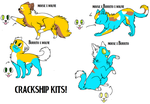 Crackship kits by Its-Mousepelt
