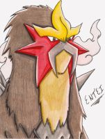 Almighty Entei by VernFeathers