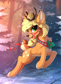 AppleRaindeer by Yakovlev-vad