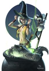 Outback witch by Loopydave