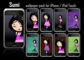 Sumi Pack Iphone wallpapers by noelevz
