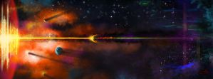 End of a Solar System by Sverrirorz
