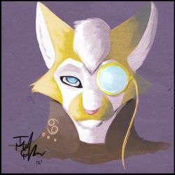 Speed Paint Sir Feel Good by MadCheshireFox