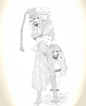 Undertaker and the twins by Gurvana