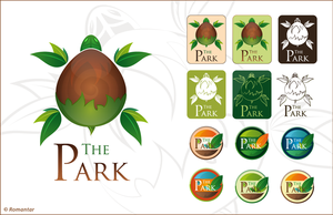 Logo The Park by Romantar