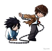 Death Note - Chibis of Doom by Psyconorikan