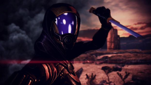 Tali'Zorah vas Normandy 24 by johntesh