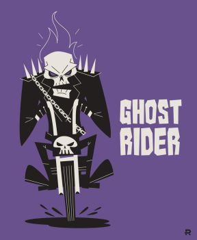 Ghost Rider Vector by funky23
