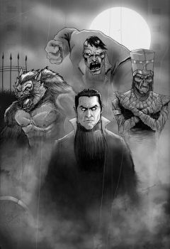 Universal Monsters by antmanx68