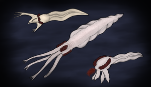 Palpomorphs, the complex beings from Europa by Dragonthunders