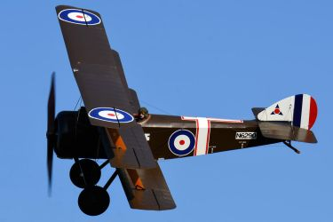 Sopwith Triplane (Late Production) by Daniel-Wales-Images