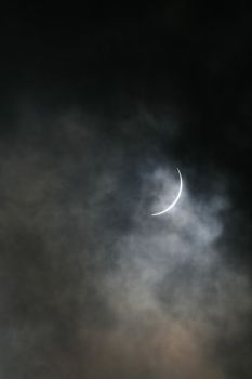 Cloudy Eclipse by WideFoot
