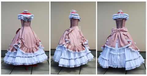 Lady Phantomhive gown commission by lady-narven