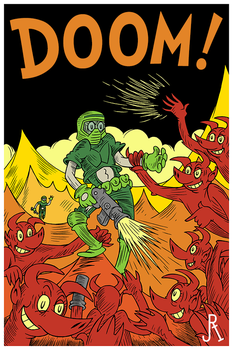 DOOM! by DrFaustusAU