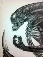 Alien by MassiveSquirter