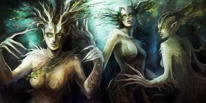 Dryads by NataliaSoleil