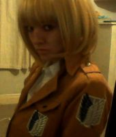 Armin Arlert ready for action by CoolShazza
