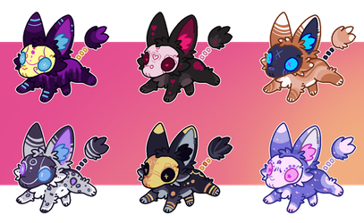 : spoopyfoxes 1 : CLOSED by weevil-adopts