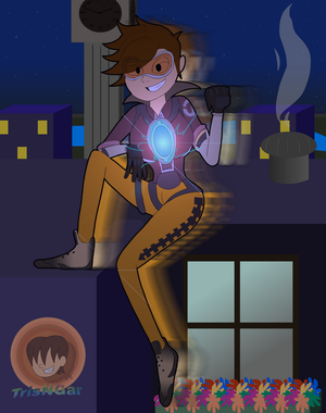 Tracer At Night by TrisNGar