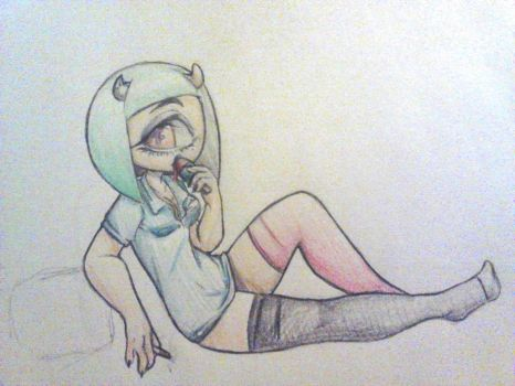 Knee socks but not really at all by QuackingMoron