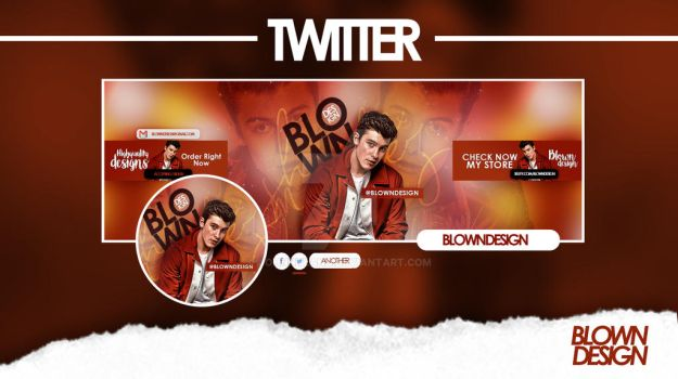 New fresh look for my twitter acount by JohnnyLand