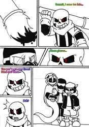 gamertale comic round 2 PAG 3 by zeroa5raven