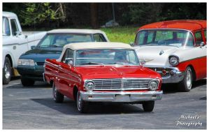 A Sharp Red Ford Falcon by TheMan268