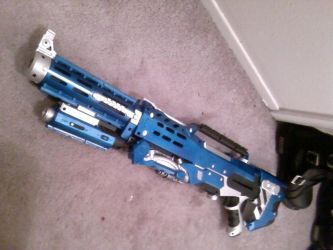 Nerf Longshot with recon by DrDisco777