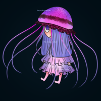 Jellyfish Girl I Adopt (CLOSED) by The-NoiseMaker