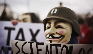 Anonymous and Scientology 11 by Wrote-off-the-World