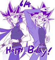 6/4 Happy Birthday! :D by Ycajal