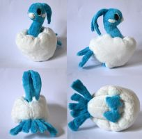 Altaria Pokemon Time Plush by Pannsie