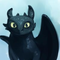 Toothless by Ka-ren