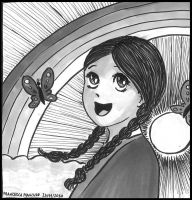 Another manga version of me :) by dreamsaddict