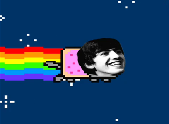 now if this isnt the cutest nyan cat. by BeatlesLuver4Ever
