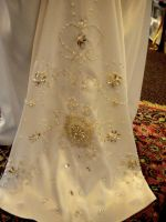 Beaded Wedding Dress: 3 by phantomonex