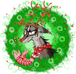 Christmas YCH for CanisLux by SeamairWolf