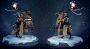 Dota2: The Keeper of the Northlight by polyphobia3d