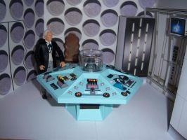 First Doctor Control Room II by MisterBill82