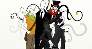 The Slender Brothers by ThoseLovelyBones