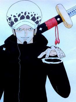Trafalgar Law by stardustmaiden