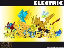 Oryu wall: electric type by shinyscyther