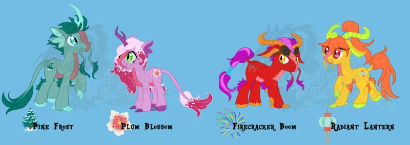 MLP:FiM Charas: More Characters Part 3 by Zephyros-Phoenix